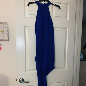 Forever 21 A line deep blue dress